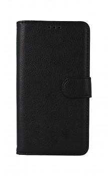 Knížkové pouzdro na iPhone 11 černé s přezkou