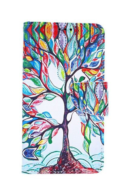 Knížkové pouzdro na iPhone 11 Barevný strom