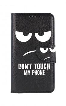 Knížkové pouzdro na iPhone 11 Don't Touch