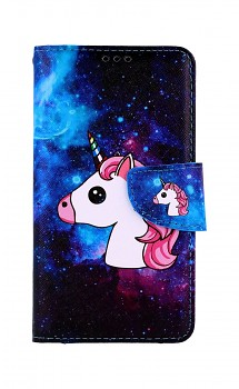 Knížkové pouzdro na iPhone 11 Space Unicorn