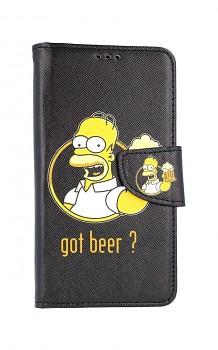 Knížkové pouzdro na iPhone 11 Homer
