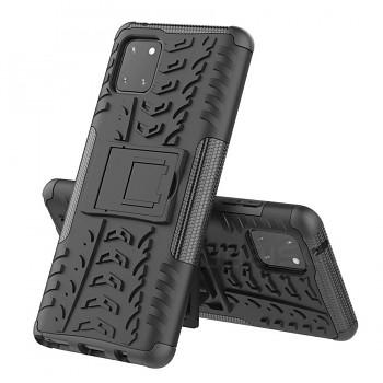 Ultra odolný zadní kryt na Samsung A41 černý