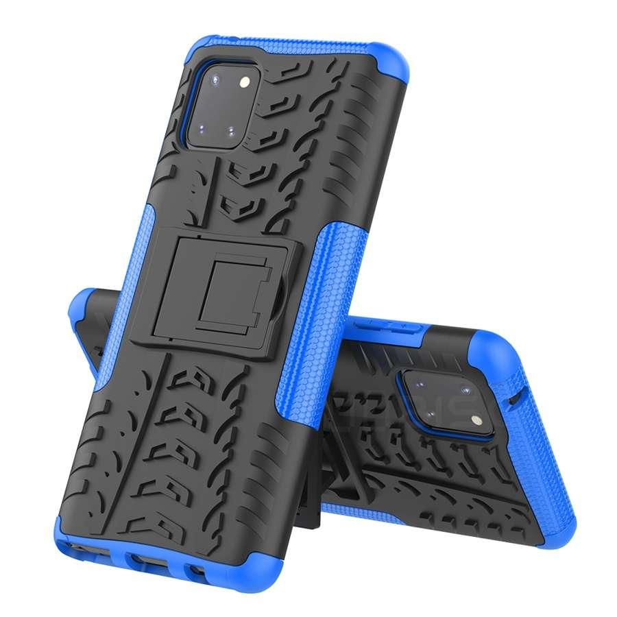 Ultra odolný zadní kryt na Samsung A41 modrý