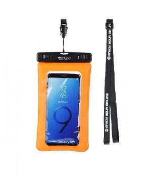 """Vodotěsné pouzdro na mobil WK 5,5"""" oranžové"""