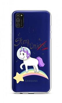 Zadní silikonový kryt na Samsung M21 Stay Unicorn