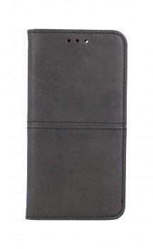 Knížkové pouzdro na iPhone SE 2020 Business černé