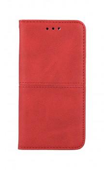 Knížkové pouzdro na iPhone SE 2020 Business červené
