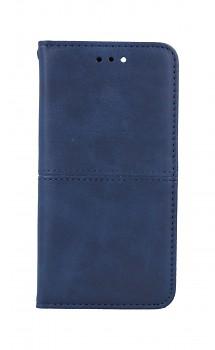 Knížkové pouzdro na iPhone SE 2020 Business modré