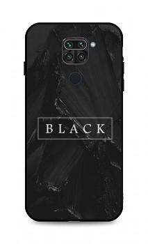 Zadní pevný kryt LUXURY na Xiaomi Redmi Note 9 Black