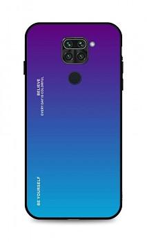 Zadní pevný kryt LUXURY na Xiaomi Redmi Note 9 duhový purpurový