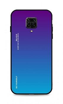 Zadní pevný kryt LUXURY na Xiaomi Redmi Note 9 Pro duhový purpurový