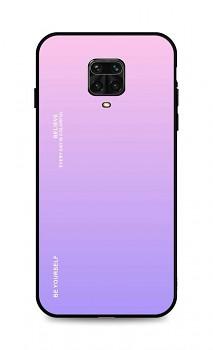 Zadní pevný kryt LUXURY na Xiaomi Redmi Note 9 Pro duhový růžový