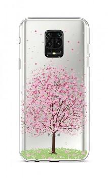 Zadní silikonový kryt na Xiaomi Redmi Note 9 Pro Blossom Tree