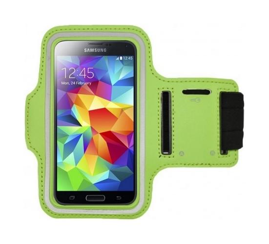 Pouzdro na ruku TopQ velikost M zelené (sportovní obal velikost M)