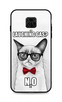 Zadní 3D silikonový kryt na Xiaomi Redmi Note 9 Pro Grumpy Cat