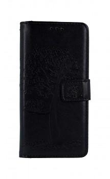 Knížkové pouzdro na Samsung A41 Černý strom sovičky