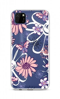 Zadní silikonový kryt na Huawei Y5p Flowers