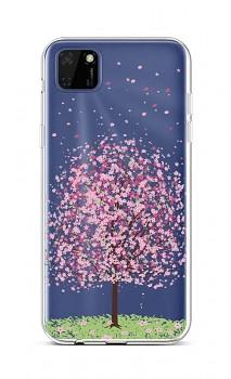 Zadní silikonový kryt na Huawei Y5p Blossom Tree