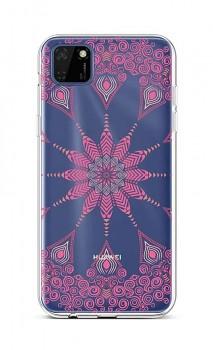 Zadní silikonový kryt na Huawei Y5p Pink Mandala