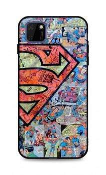 Zadní 3D silikonový kryt na Huawei Y5p Superman