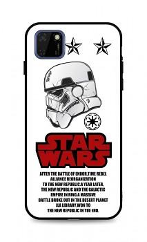 Zadní 3D silikonový kryt na Huawei Y5p Star Wars