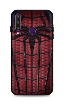 Zadní 3D silikonový kryt na Huawei Y6p Spider-man