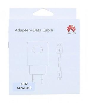 Originální rychlonabíječka Huawei AP32 + datový kabel micro USB bílá 2A (EU Blister)