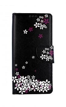 Knížkové pouzdro na Xiaomi Redmi Note 9 Květy sakury