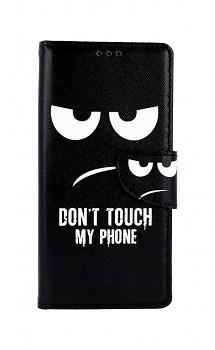 Knížkové pouzdro na Xiaomi Redmi Note 9 Don't Touch