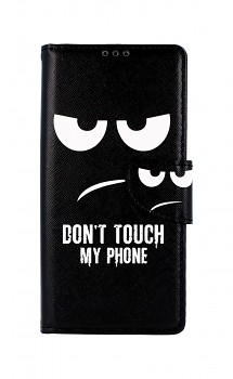 Knížkové pouzdro na Xiaomi Redmi Note 9 Pro Don't Touch