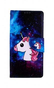 Knížkové pouzdro na Xiaomi Redmi Note 9 Pro Space Unicorn