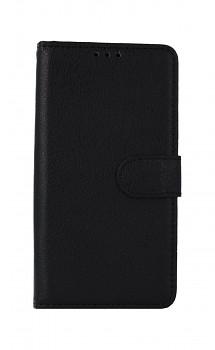 Knížkové pouzdro na Huawei Y5p černé s přezkou
