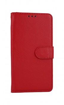 Knížkové pouzdro na Huawei Y5p červené s přezkou