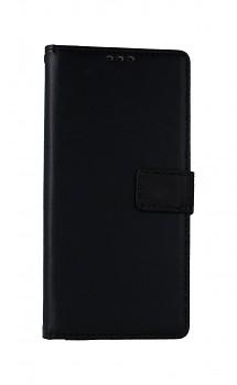 Knížkové pouzdro na Xiaomi Redmi Note 9 černé s přezkou 2