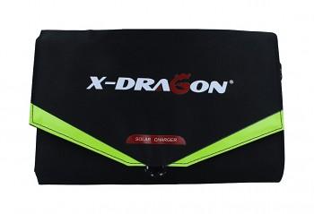 Solární nabíječka X-DRAGON XD-SP18V40W černá