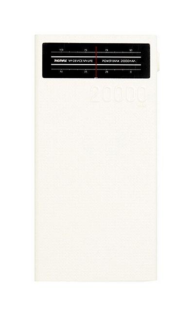 POwerbank Remax Radio 20000mAh bílá 50750