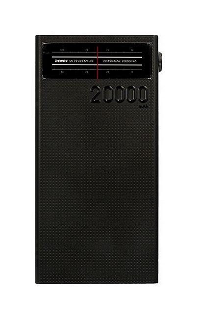 POwerbank Remax Radio 20000mAh černá 50752
