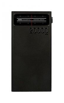 Powerbank Remax Radio 20000mAh černá