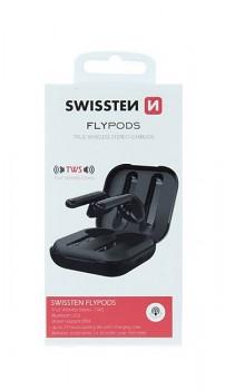 Bluetooth sluchátka SWISSTEN Flypods černá