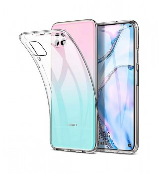 Zadní kryt Swissten Clear Jelly na Huawei P40 Lite průhledný