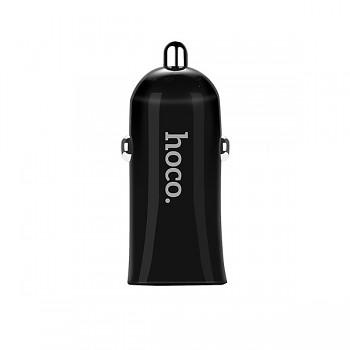 Autodobíječ HOCO Z12 Elite Dual 2.4A černý