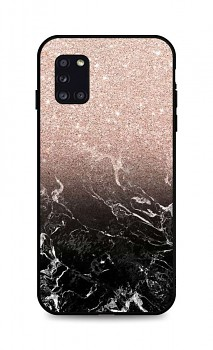 Zadní pevný kryt LUXURY na Samsung A31 Sparkling Marble