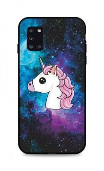 Zadní pevný kryt LUXURY na Samsung A31 Space Unicorn