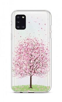 Zadní silikonový kryt na Samsung A31 Blossom Tree