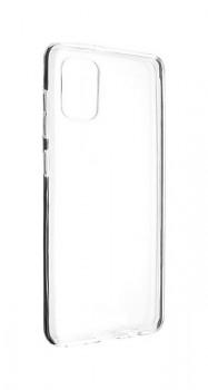 Zadní silikonový kryt na Samsung A31 1 mm průhledný