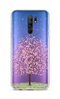 Zadní silikonový kryt na Xiaomi Redmi 9 Blossom Tree