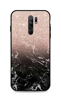 Zadní pevný kryt LUXURY na Xiaomi Redmi 9 Sparkling Marble