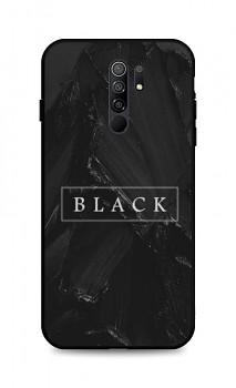 Zadní pevný kryt LUXURY na Xiaomi Redmi 9 Black