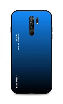 Zadní pevný kryt LUXURY na Xiaomi Redmi 9 duhový modrý