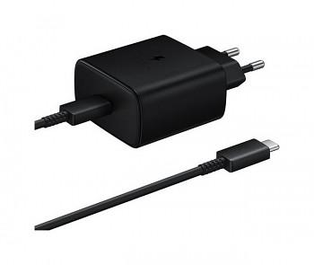 Originální USB-C (USB type-C) rychlonabíječka Samsung EP-TA845 černá (EU Blister)